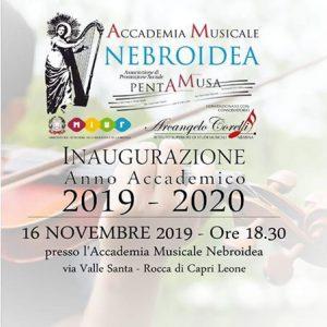Inaugurazione Accademia 2019-20 fronte